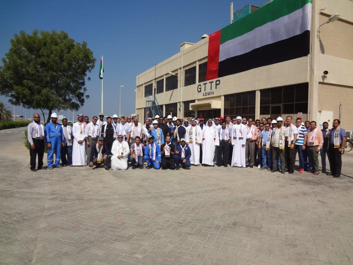 TTEOM celebrates UAE National Flag Day and UAE Commemoration Day
