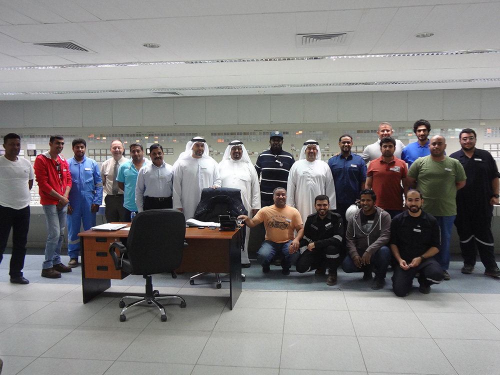 Congratulations to the First UAE National Shift